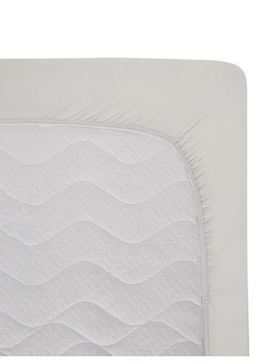Hibboux 70x140x20 Milou Jersey Lastikli Çarşaf - White Beyaz